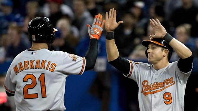 Davis has 3 RBIs, Orioles beat Blue Jays 11-4