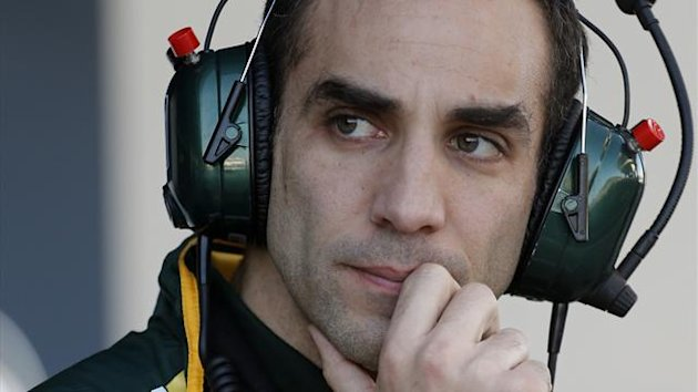 Caterham team principal Cyril Abiteboul