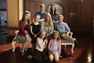 Ella Watts-Gorman as Luisa, Sophia Caruso as Brigitta, Grace Rundhaug as Marta, Michael Nigro as Friedrich, Carrie Underwood as Maria, Ariane Rinehart as Liesl, Peyton Ella as Gretl, Joe West as Kurt -- NBC