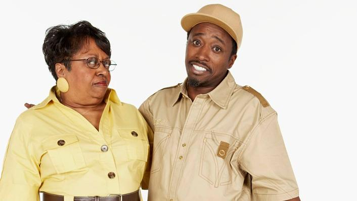 [ytvperson id=33137]Eddie Griffin[/tvperson] and his mom in the VH1 reality series Eddie Griffin: Going for Broke