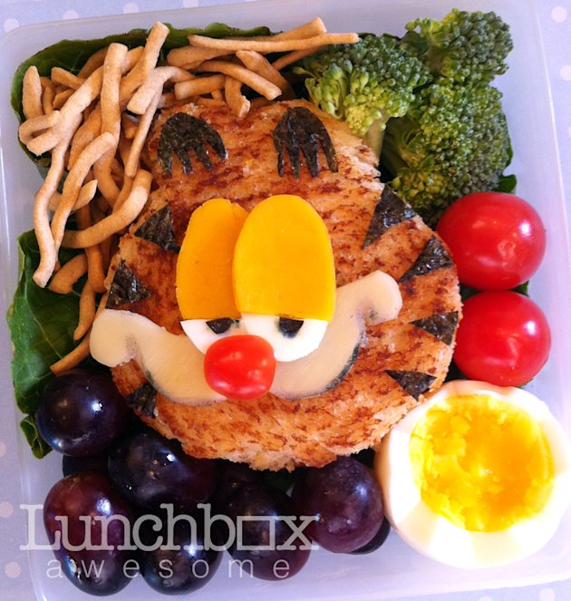 Awesome Lunchbox Characters