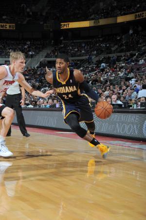 Pacers still unbeaten after beating Pistons 99-91