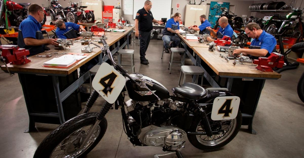 Skilled motorcycle techs are in demand.