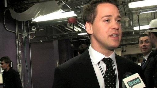 T.R. Knight Backstage
