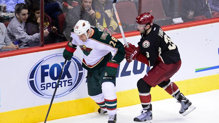 NHL: Minnesota Wild at Phoenix Coyotes