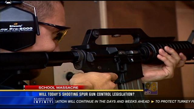 Will school shooting spur gun control legislation?