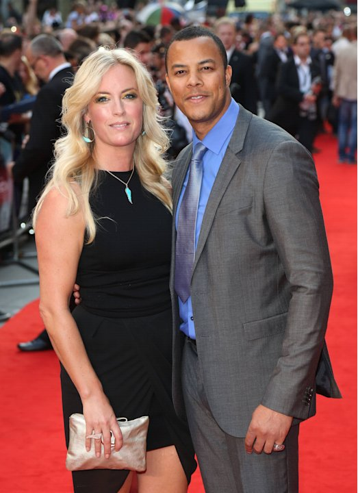 Michael Wildman and guest The Sweeney UK film premiere held at the Vue cinema - arrivals London, England - 03.09.12     Mandatory Credit: Lia Toby/WENN.com