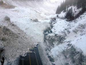 This Jan. 24, 2014 photo provided by the Alaska Department…