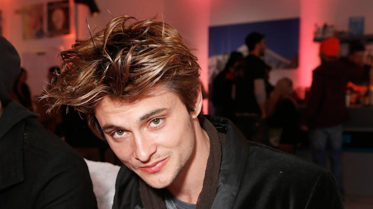 Actor Shiloh Fernandez warms up and checks out Wii U at the Nintendo Lounge during a break from the Sundance Film Festival on Sunday, Jan. 20, 2013 in Park City, UT. (Photo by Todd Williamson/Invision for Nintendo/AP Images)