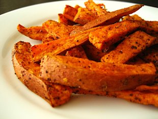 vegan thanksgiving recipes baked sweet potato fries