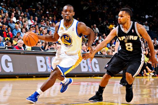 Short-handed Spurs beat Warriors 107-101