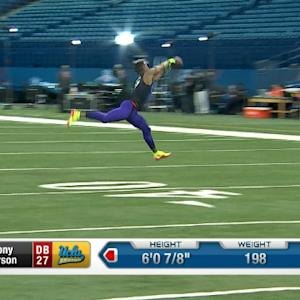 UCLA defensive back Anthony Jefferson makes nice grab