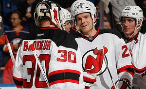 Devils machine keeps chugging without Parise