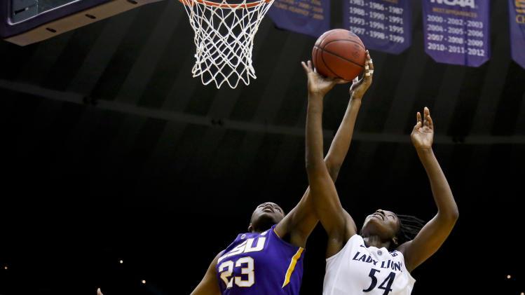 NCAA Womens Basketball: NCAA Tournament-Penn State vs LSU