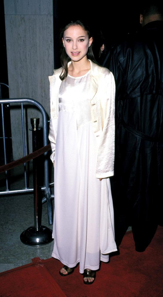 Natalie Portman Growing up on the red carpet