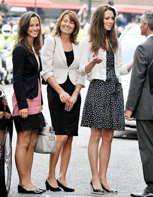 Kate Middleton's Mom Carole, Sister Pippa Won't Be in Delivery Room