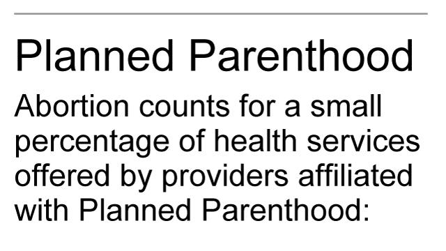 Graphic shows Planned Parenthood services; 1c x 3 inches; 46.5 mm x 76 mm;
