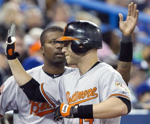 Reimold's homer lifts Orioles over Blue Jays 6-4