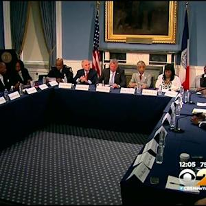 Roundtable Meeting Held At City Hall On NYPD-Community Relations