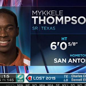 New York Giants pick safety Mykkele Thompson No. 144 in 2015 NFL Draft