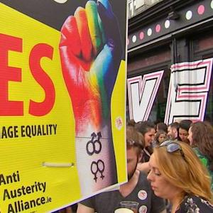 Ireland becomes first to vote for same-sex marriage