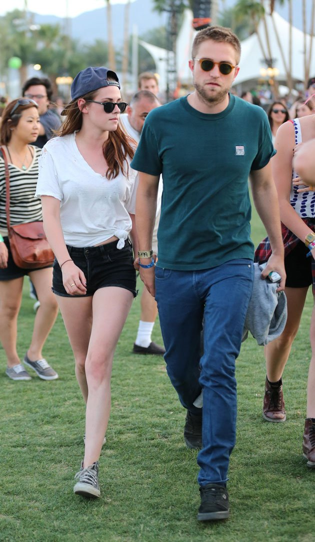 K-Stew und R-Patz verliebt auf dem Coachella-Festival