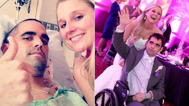 Couple&#39;s Dying Wish for Dream Wedding, Disney Honeymoon Comes True (ABC News)