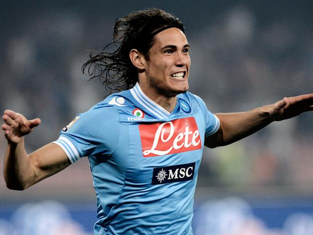 Napoli want Cavani to stay