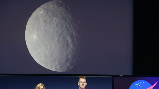 orbit around the dwarf planet Ceres on Friday, the last stop in a
