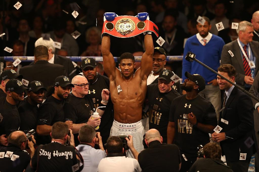Joshua's team eye China fight for champion