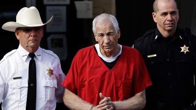 Sandusky Says He's Trying to 'Grow'