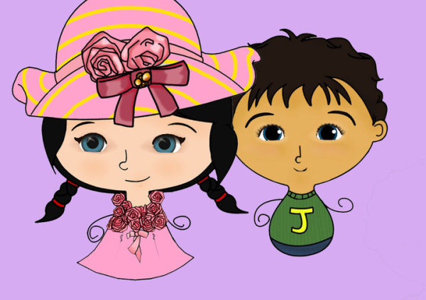Jack and Holly are characters in a children&amp;#39;s TV show created by two parents. (Facebook)