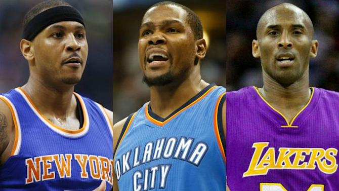 Stephen A. Smith Suggests Carmelo Anthony, Kevin Durant, and Kobe Bryant Could End Up on the Knicks