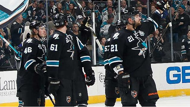 Sharks gain momentum for Game 5