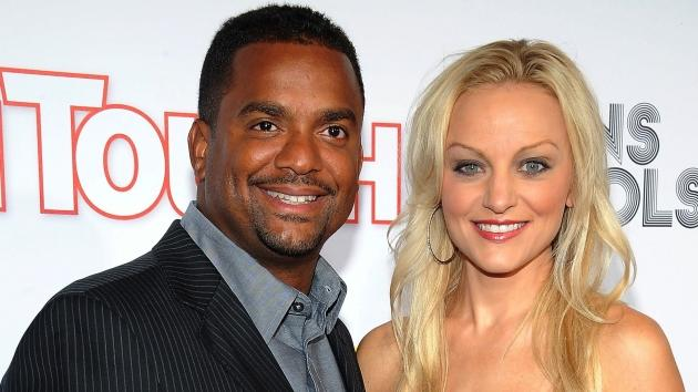 Alfonso Ribeiro and Angela Unkrich attend In Touch Weekly's 5th Annual 2012 Icons + Idols at Chateau Marmont on September 6, 2012 -- Getty Images