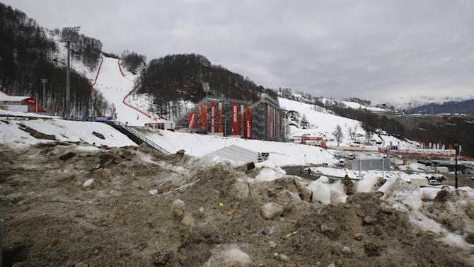 Sochi chief: No need to use stored snow - yet