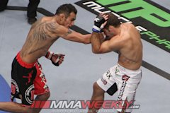 Tony Ferguson and Aaron Riley at UFC 135