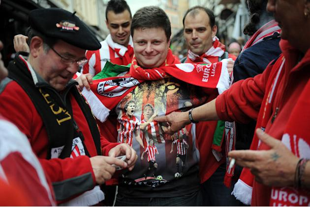 Bilbao's Fans AFP/Getty Images