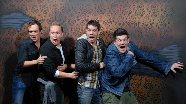 Laugh in Ghoulish Delight at 'Ellen' Staffers' Haunted House Trip