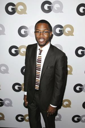 "FILE - In this Nov. 17, 2011 file photo, Frank Ocean arrives at the 16th annual GQ ""Men of the Year"" party in Los Angeles. On Wednesday, July 4, 2012,  Ocean, the rising and highly acclaimed singer revealed on his website that his first love was a man. (AP Photo/Matt Sayles, File)"