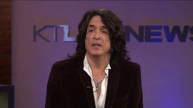 Paul Stanley Makes an Exclusive Announcement on KTLA