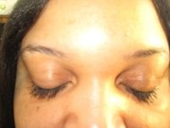 Mrs. Kim's powerful lashes in action!