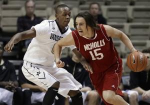 Johnson leads Vanderbilt past Nicholls State 80-65