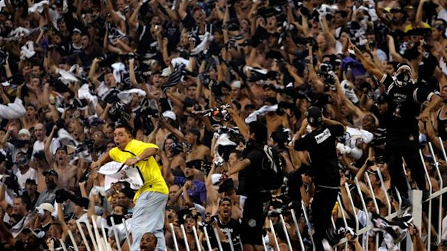 Corinthians football fans