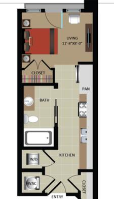 Close Quarters : Atlantans are Slowly Embracing Extremely Tiny Apartments