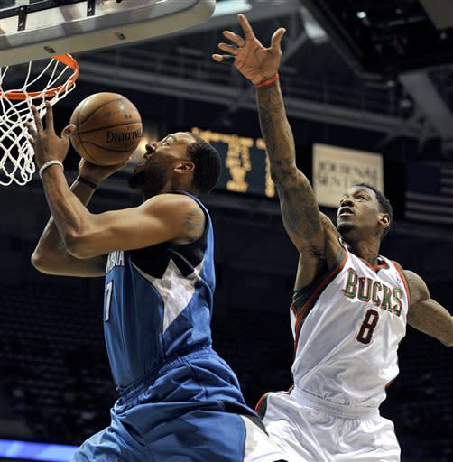 T-Wolves beat Bucks for Adelman's 999th NBA win