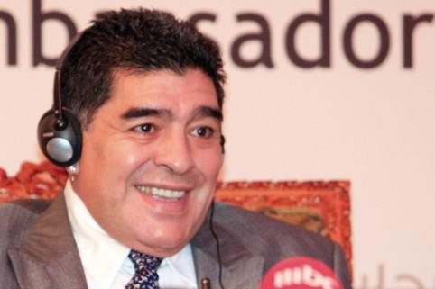 Maradona supporting UAE, not Argentina at World Cup