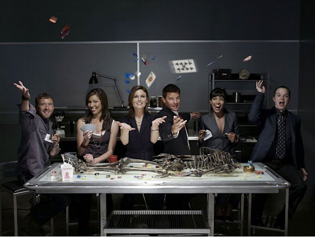 The casts of Bones.
