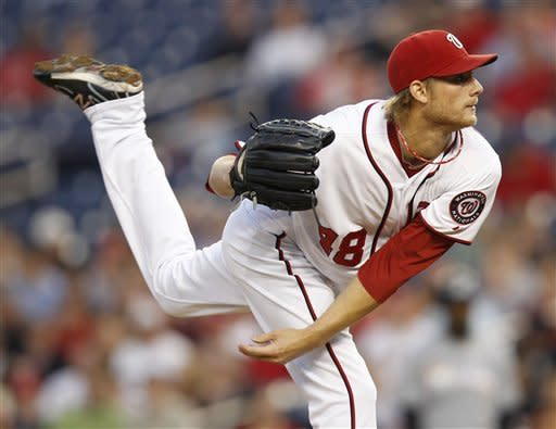 Detwiler, Ankiel lead Nats to 2-0 win over Marlins