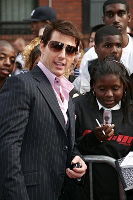 Tom Cruise at the NY premiere of Paramount's Mission: Impossible III